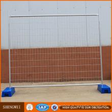 Temporärer Zaun des Selbstmontage-Australiens / einfach konstruierter Zaun
