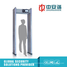 High Adjustable 24 Detection Zones Archway Metal Detectors with High-Brightness LED Indicator