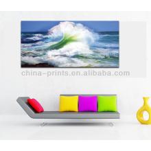 Nueva pintura del paisaje marino de la llegada en la lona para la venta al por mayor