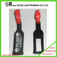 Logotipo barato impreso etiqueta de equipaje de PVC (EP-C2730)