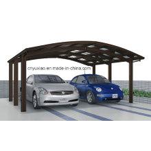 2014 Carport de aluminio doble moderno para 2 coches