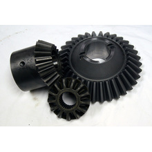 black hardened hobbing bevel gears for trucks