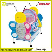 Fabricante NOVO Móveis para bebês com Cute Animal Design Rocking Baby Cradle ou como Carrying Cot