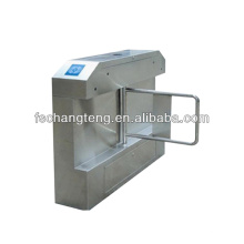 Intelligent bridge swing barrier gate with DC electromotor