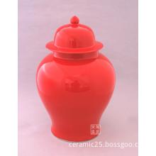 wholesale colored glaze porcelain jars