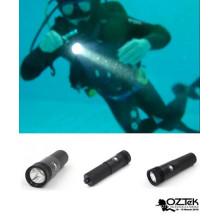 2016 hot selling small snorkeling dive flashlight