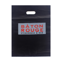 Black and Large LDPE Die Cut Bag