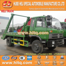 DONGFENG 8cbm 4x2 swinging arm garbage truck roll off garbage truck sanitation vehicle 170hp discount price factory sale