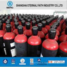 Cylindres de gaz à haute pression en acier sans couture (ISO9809 219-40-150)