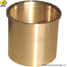 Изготовленная на заказ бронза / латунная втулка OEM с CNC подвергая механической обработке