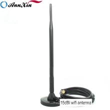High Gain 2.4G Wireless Router 15db WIFI Sucker Antenna