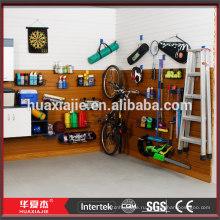 Панель pvc slatwall для гаража
