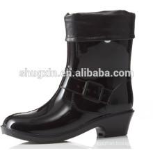 high heel rain boots winter boots women high heel boots| B-815