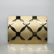 Espejos de pared de salón personalizados de alta calidad de venta caliente