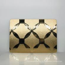 Espelhos personalizados de alta qualidade da parede do salão de beleza da venda