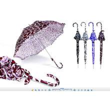 Parapluie de dentelle d'impression d'ondulation de l'eau (YS-SM23083904R)