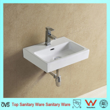 High Quality Modern Sink Sanitary Ware Ceramic Wall Hung Basin