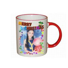 Heat transfer color change mug