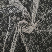 New Style Polyester Ground Fancy Embroidery Lace Tulle
