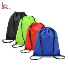 Barato promocional personalizado bolsa de lazo