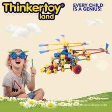 2015 Heißer Verkauf neuer pädagogischer Mathe-Geometrie zusammengebautes Spielzeug