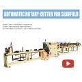Máquina de corte automático de pólo vertical do andaime