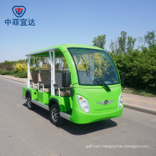 Electric Toyota Motor Sightseeing Shuttle Bus