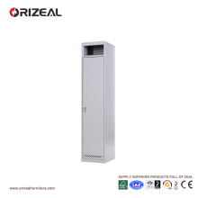 Armario de acero para almacenamiento de puerta única Orizeal (OZ-OLK003)