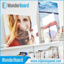 Impressions sur aluminium, panneaux photo HD pour la publicité