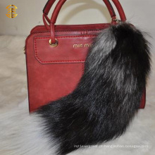 Trend Fashion Fox Tail Fur Accessory Keyring Bag Pendant Fur Chaveiro