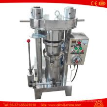 Máquina de extracción de prensa de aceite de semilla de calabaza de ajonjolí de sésamo verde oliva