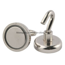 Permanent NdFeB Magnetic Hooks with Strong Magnetism