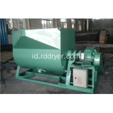 Mixer serbuk kering Horizontal Ribbon