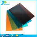 Folha de policarbonato transparente de resistência à corrosão folha de plástico transparente painéis de cobertura de sol