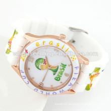 Relojes de moda reloj barato de silicona relojes