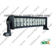 13 luzes de névoa Offroad combinado da lâmpada do barco do Ute da barra clara do projector 4WD do diodo emissor de luz 72W da polegada 72W
