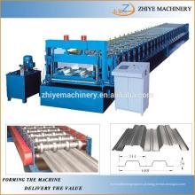 Alta Qualidade Piso Decking Panel Roll Formando Máquina Chinês Fabricante
