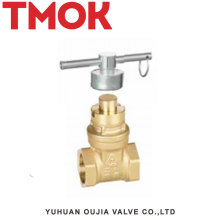 Best Quality Brass Gate Valve With Lock