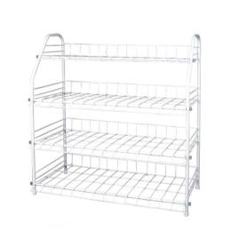 4 Tier Metal Shoe Rack