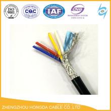 2pair cabo de instrumentação OS / IS tela de cabo blindado de arame de aço