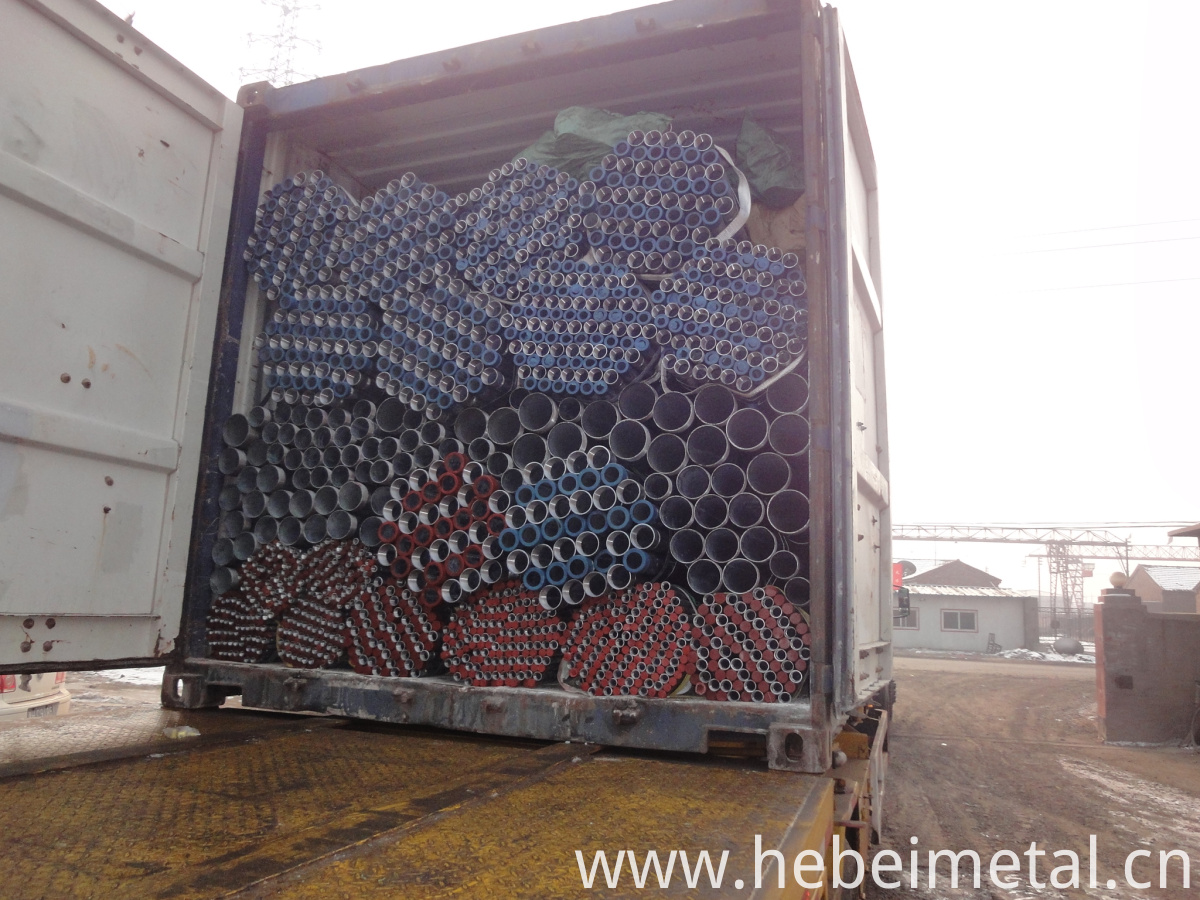 packing and shipping for galvanized steel round pipe