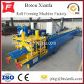 Colored Steel Glazed Tile Roof Panel Ridge Making Machine