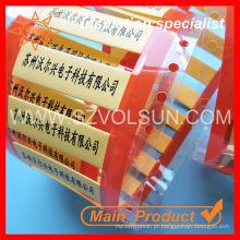 3: 1 1.6MM tamanho pequeno marcador de cabo etiqueta