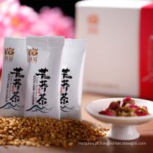 Chá de grão de trigo sarraceno de grau superior Chá de arroz secado de rosa para perda de peso