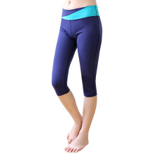 Pantalon de yoga de Capri de femmes de haute qualité de performance pour des sports