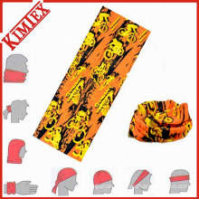 Polyester Microfiber Multifunctional Seamless Neck Tube Bandana
