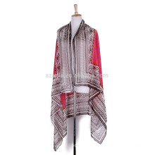 Fashion ladies tribal print polyester sarong pareo