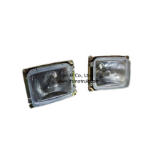 DZ9100720058 DZ9100720057 Lámpara de cabeza Shacman L&R para F2000