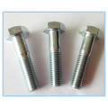 Plain Stainless Steel Part Threaded Hex Bolt