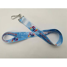 Custom Durable Polyester Screen Printing Lanyards